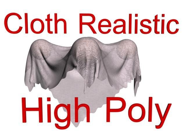 realistic cloth dwg