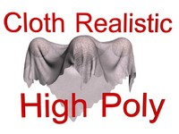 Cloth HIGH REALICTIC animated