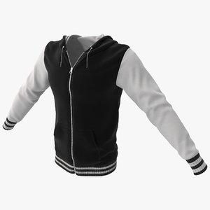 hooded sweatshirt 3ds