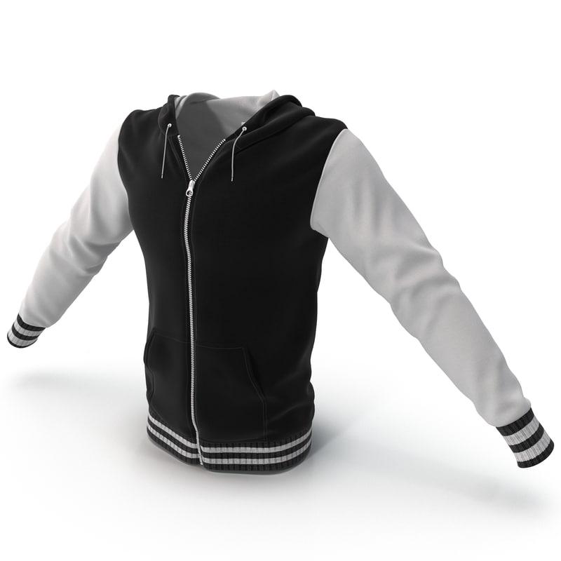 hooded sweatshirt 3ds