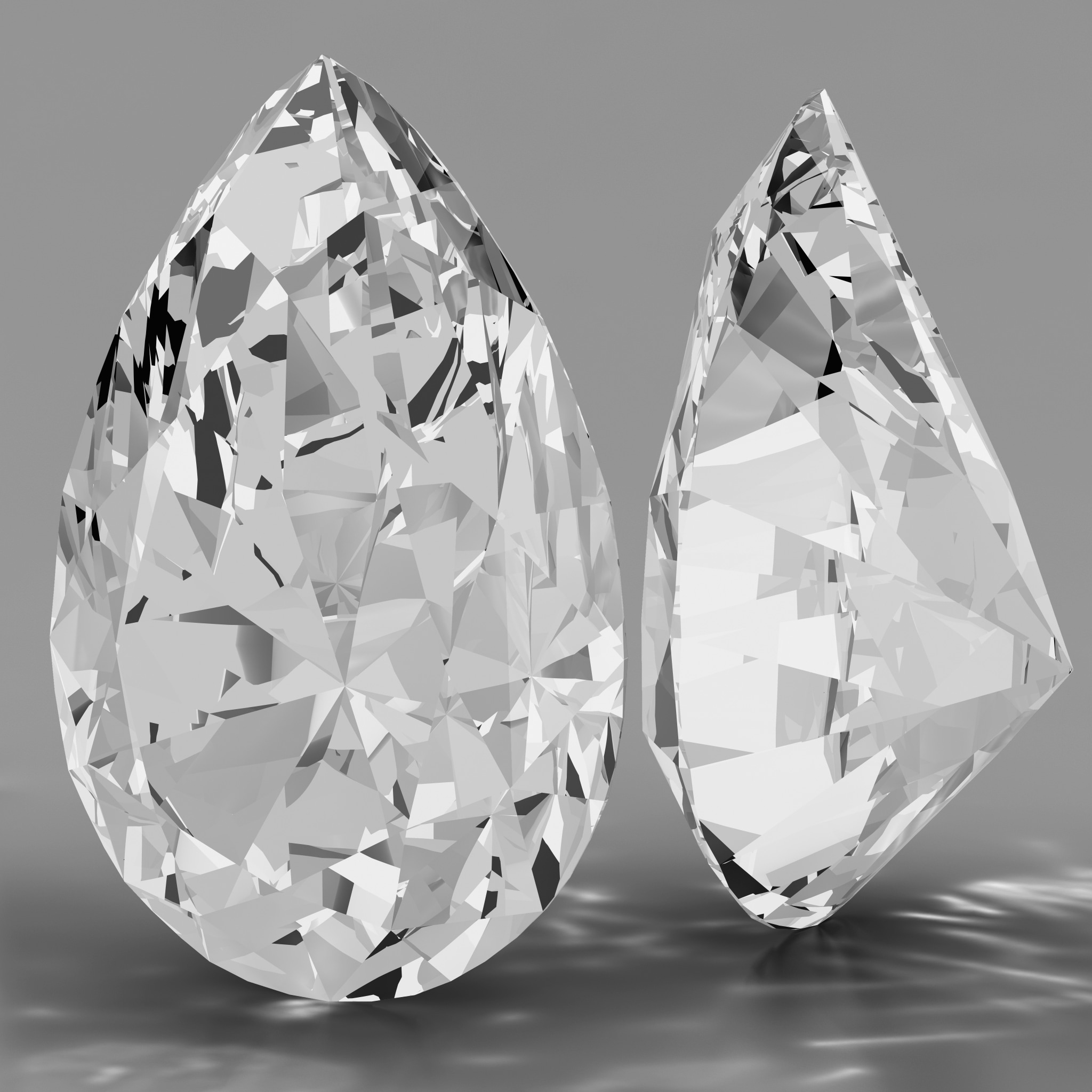 max pear shaped diamond