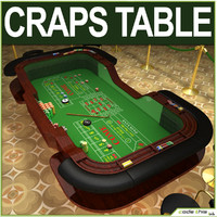 Table Casino - Craps Table