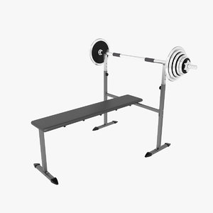 3ds weight lifting bench 2