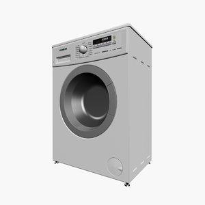 wash mashine siemens 3d 3ds