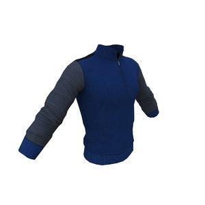 pullover 3d max