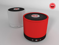 3d model mini speaker s10 dre
