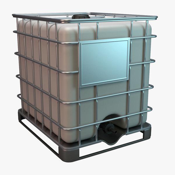 3ds max water storage tank