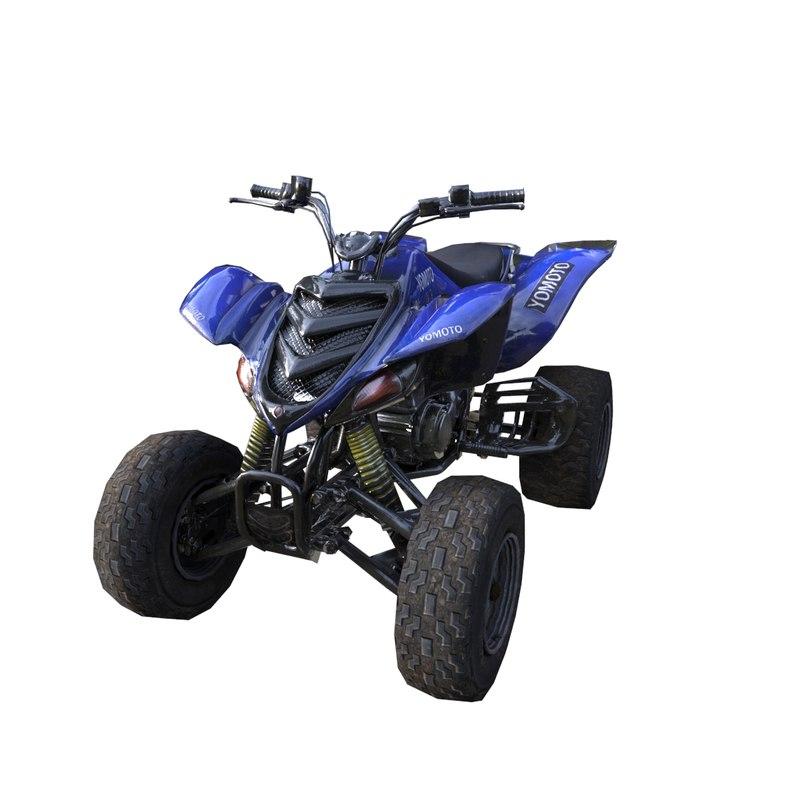 beach moto 3d model