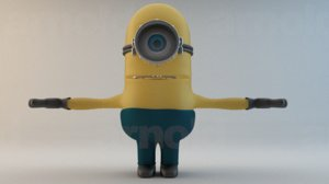 3d minion despicable movies
