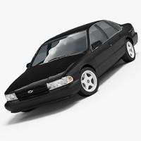 3d chevrolet impala ss 1994-1996