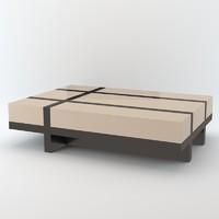 3d davidson melrose table