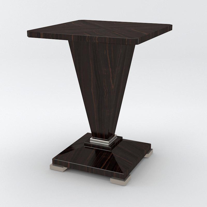 3d model davidson winnington table