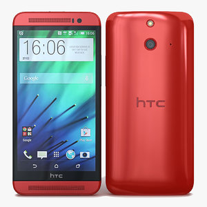 htc e8 red 3ds