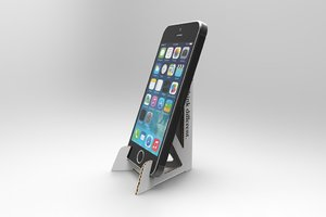 mobile phone stand 3d model