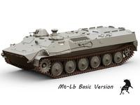 mt-lb 3d model