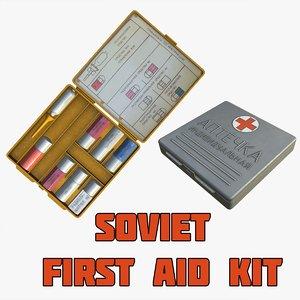 soviet aid kit 3d max