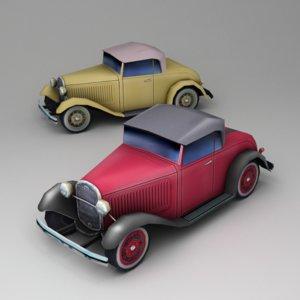 3d roadster 1930