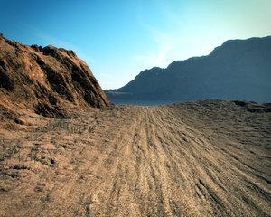 cinema4d realistic desert