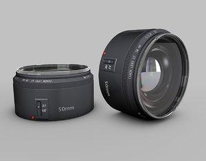 50mm lens dxf