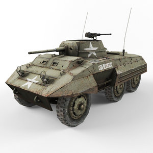 m8 vehicle 3d model