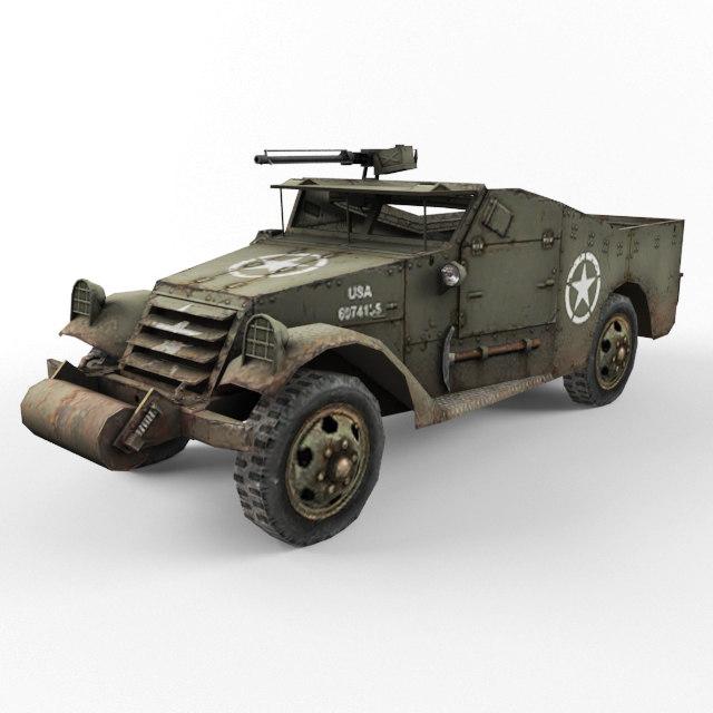 half-track m3 vehicle max