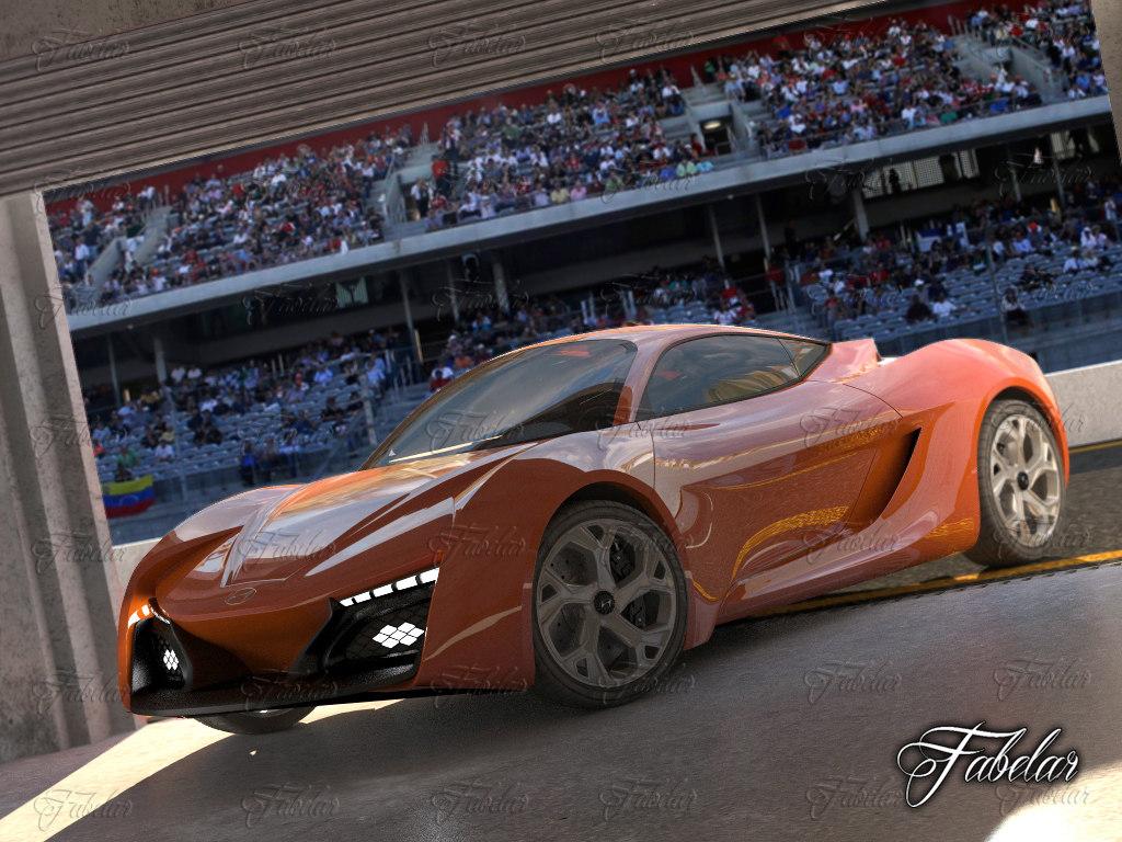 3d model of hyundai passocorto garage