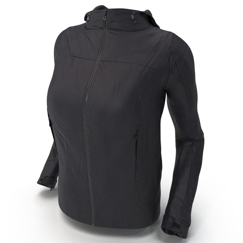3d rain jacket