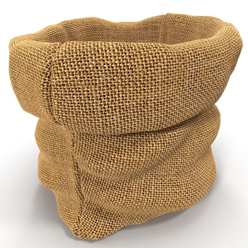sack 3d model