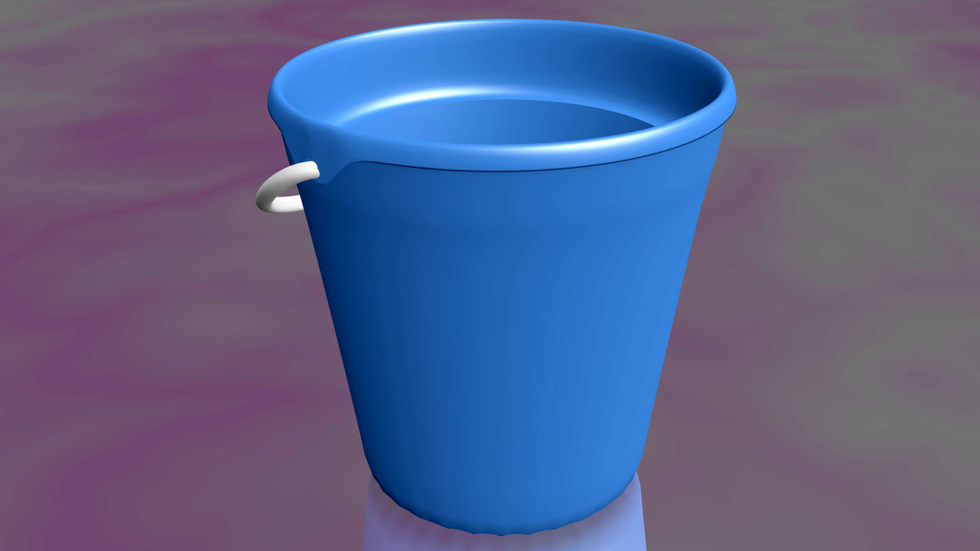 water bucket obj