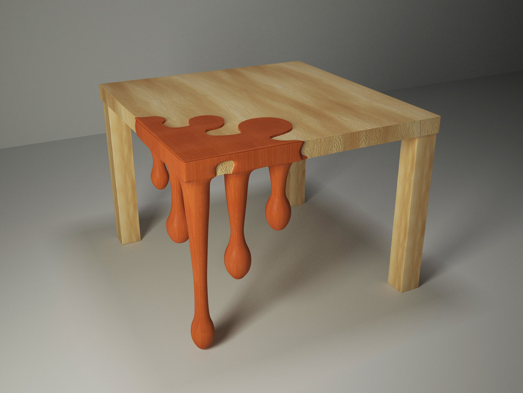 funny wood table max