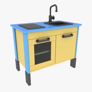 3d duktig mini kitchen