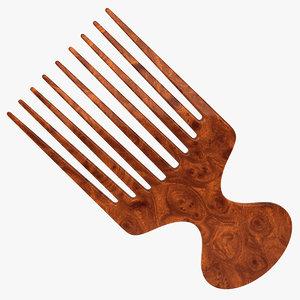 hair brush 3d model