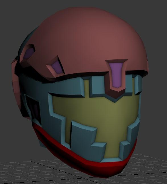 3d space helmet