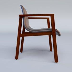 annika arm chair 3d max