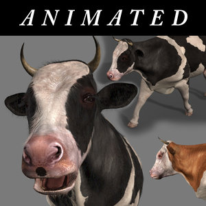 cow fur animations max
