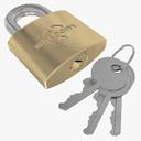 lock 3D models