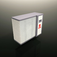 Air Conditioner Exterior Unit