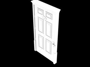 3d model hotel door room