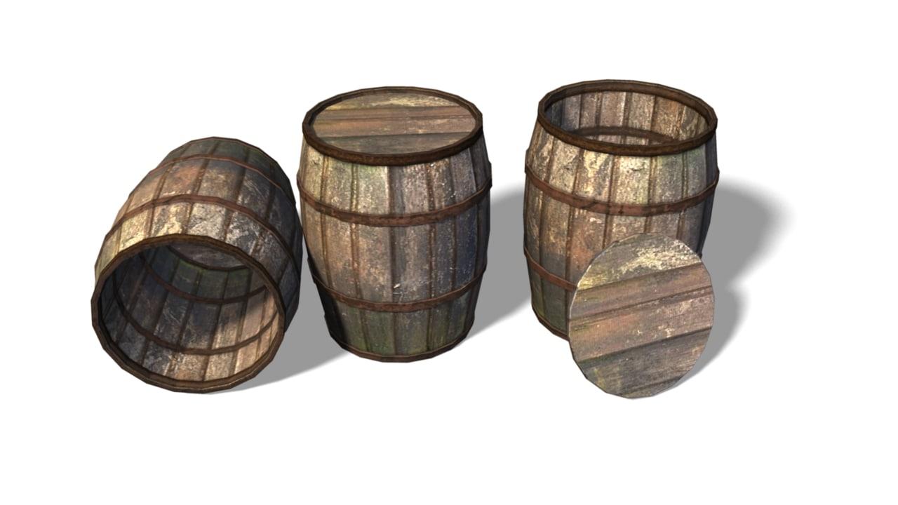 c4d barrel 2015