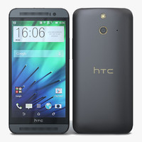3d htc e8 black model
