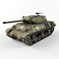 3d max m10 tank destroyer