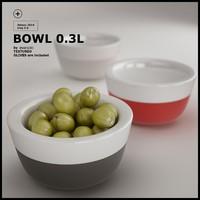 3d model 0 3l bowl