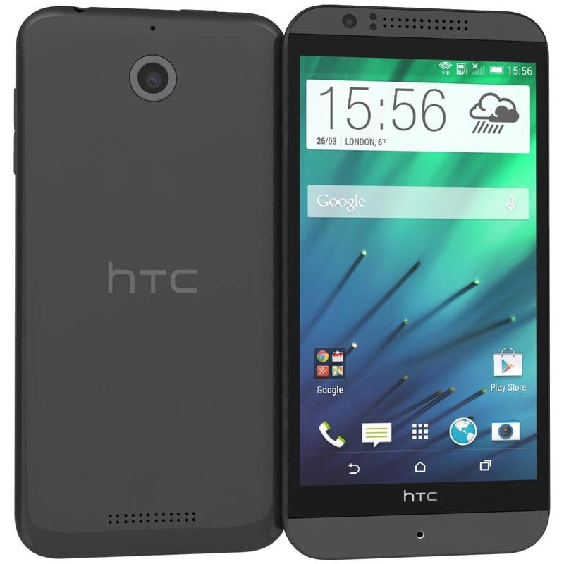 htc desire 510 dark grey model