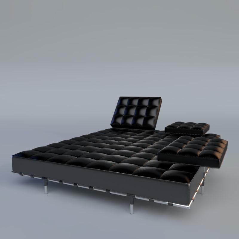 3d - modern sofa