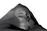 3d model skull cave entrance