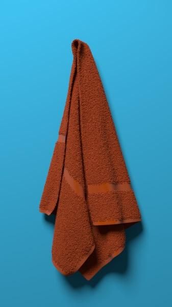 maya bathroom towel