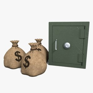3d 3ds strong sacks money safe