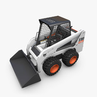 bobcat s160 loader cat s 3d model