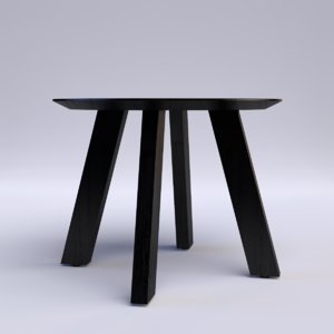 3d freya dining table model
