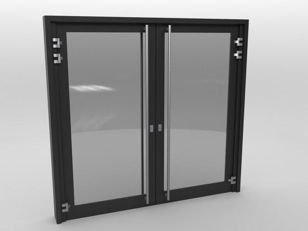 door black plastic max